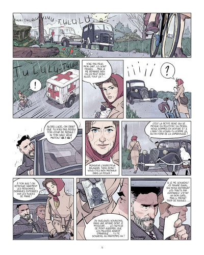 Page 6 Violette Morris tome 1