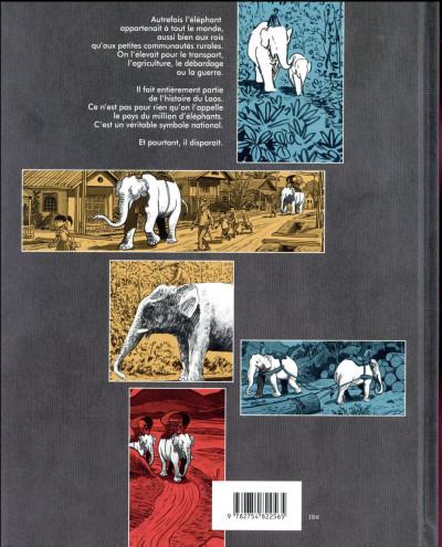 Dos La longue marche des éléphants