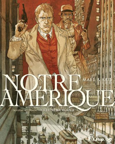 Couverture Notre Amérique tome 3 + ex-libris offert