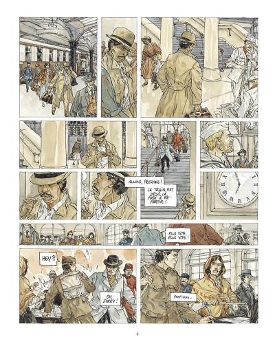 Page 6 Notre Amérique tome 3 + ex-libris offert