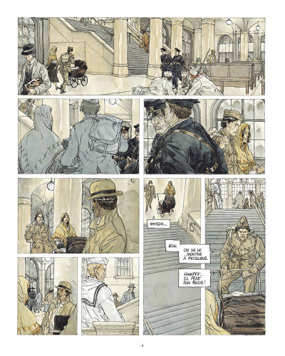 Page 7 Notre Amérique tome 3 + ex-libris offert