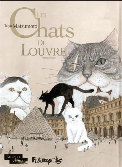 Couverture Les chats du Louvre tome 1