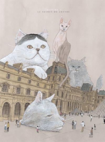 Page 3 Les chats du Louvre tome 1