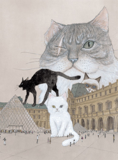 Page 4 Les chats du Louvre tome 1