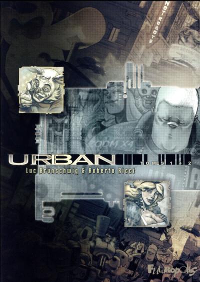 Couverture Urban tomes 1 et 2 - pack été