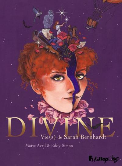Couverture Divine - Vie(s) de Sarah Bernhardt