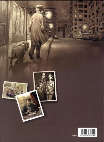 Dos La mémoire dans les poches - coffret 3 tomes