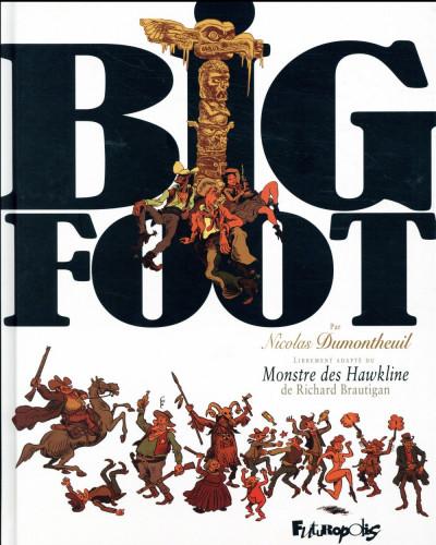 Couverture Big foot - intégrale