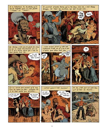 Page 6 Big foot - intégrale