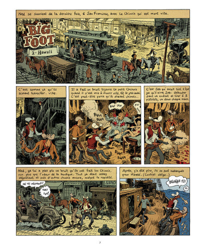 Page 8 Big foot - intégrale