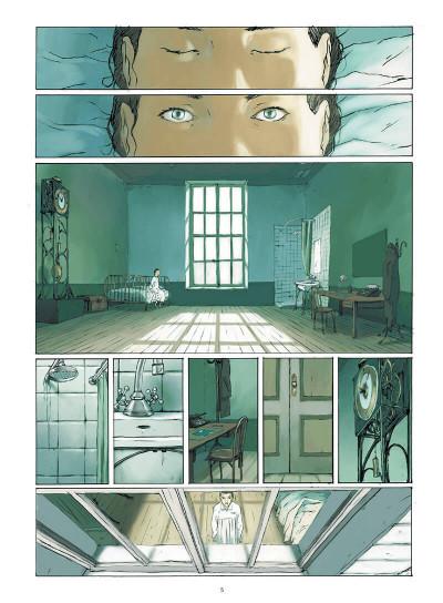 Page 4 Le monde de Lucie - intégrale