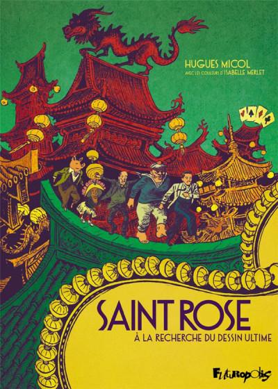 Couverture Saint Rose - À la recherche du dessin ultime