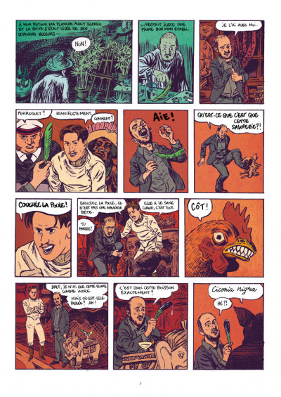Page 5 Saint Rose - À la recherche du dessin ultime