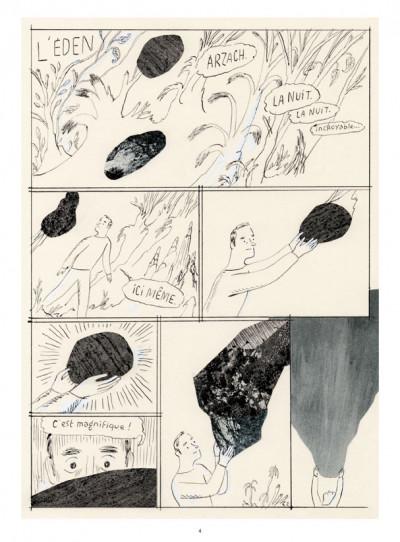 Page 2 J'aurais voulu faire de la bande dessinée