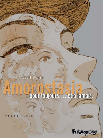 Couverture Amorostasia - coffret 3 tomes