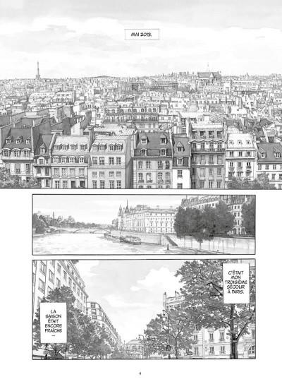 Page 5 Les gardiens du Louvre - version n&b et augmentée
