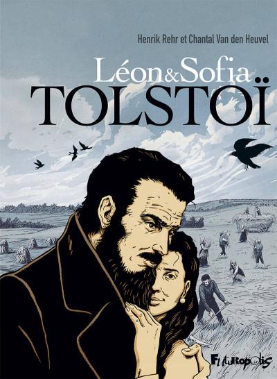 Couverture Leon et Sofia Tolstoï