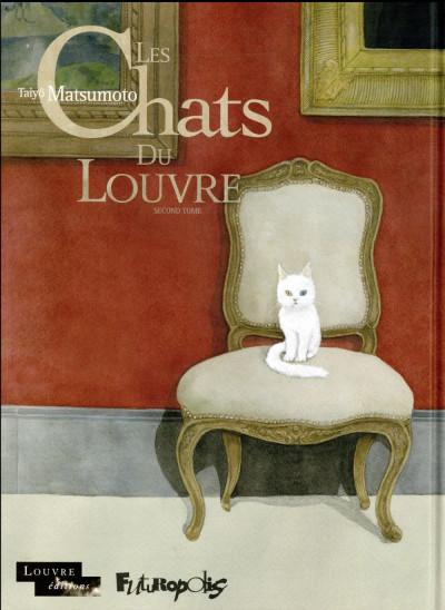 Couverture Les chats du Louvre tome 2