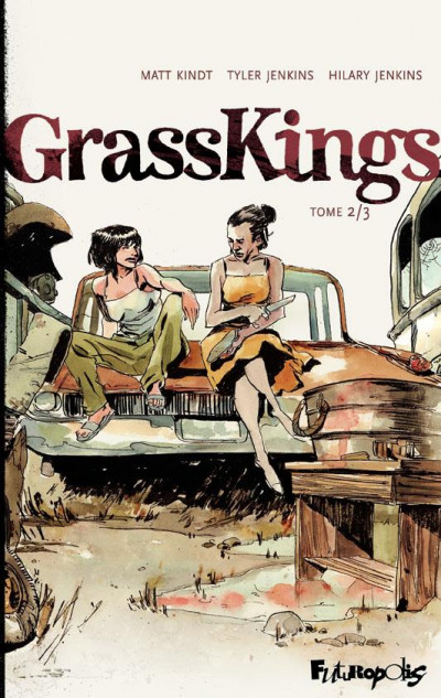 Couverture Grass kings tome 2