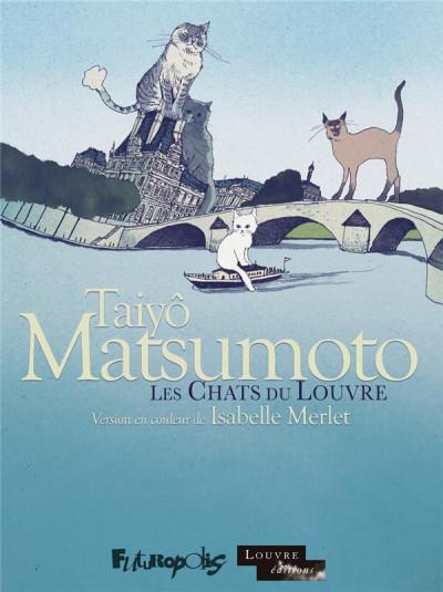 Couverture Les chats du Louvre - intégrale couleur