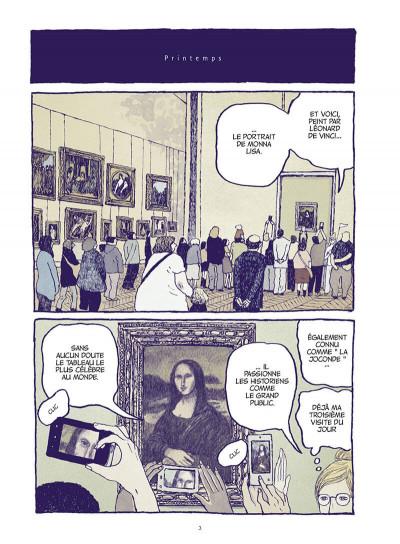Page 3 Les chats du Louvre - intégrale couleur