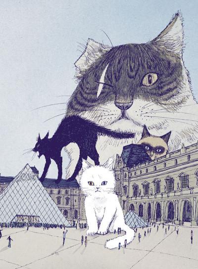 Page 4 Les chats du Louvre - intégrale couleur