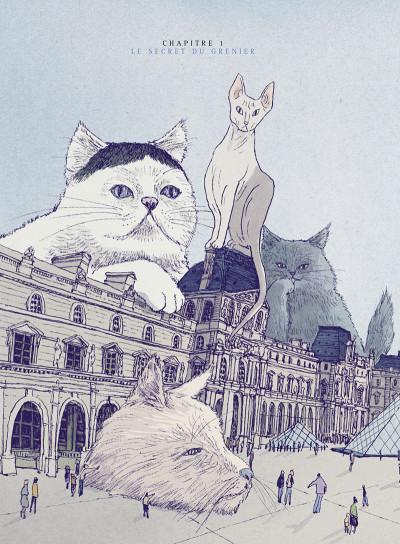 Page 5 Les chats du Louvre - intégrale couleur