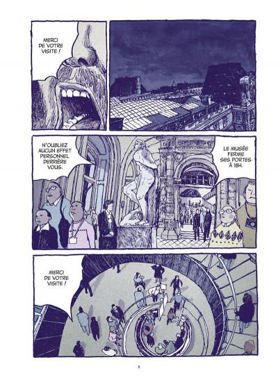 Page 8 Les chats du Louvre - intégrale couleur