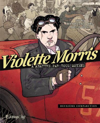 Couverture Violette Morris tome 2