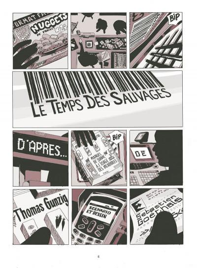 Page 7 Le temps des sauvages