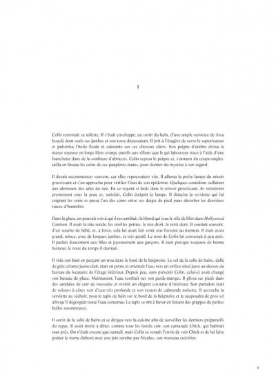 Page 1 L'écume des jours