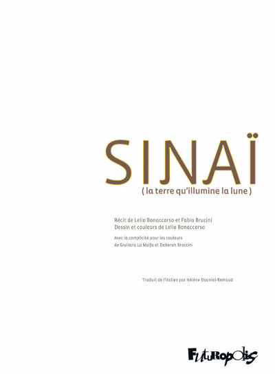 Page 2 Sinaï - La terre qu'illumine la lune