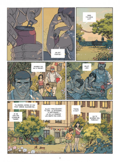 Page 4 La chute tome 1