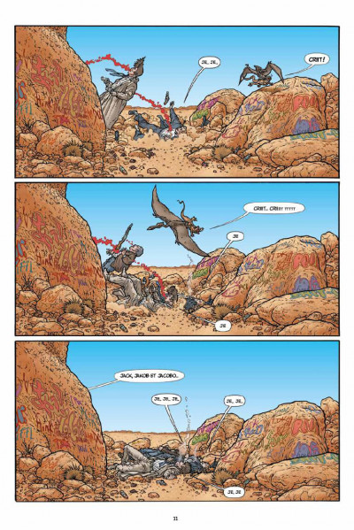 Page 6 Shaolin cowboy tome 1