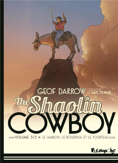 Couverture The shaolin cowboy tome 3