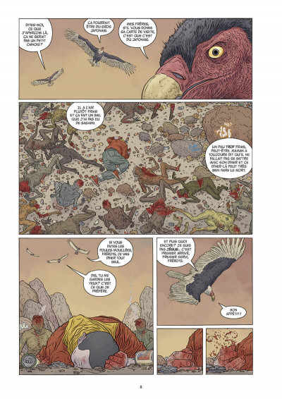 Page 9 The shaolin cowboy tome 3