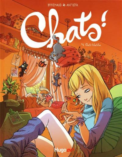 image de chats ! tome 1 - chats-tchatcha