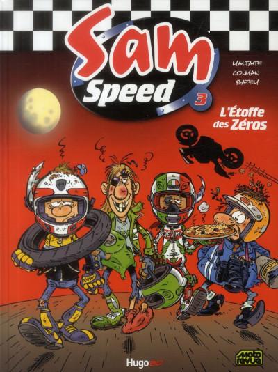 Couverture Sam Speed tome 3 - l'étoffe des zéros
