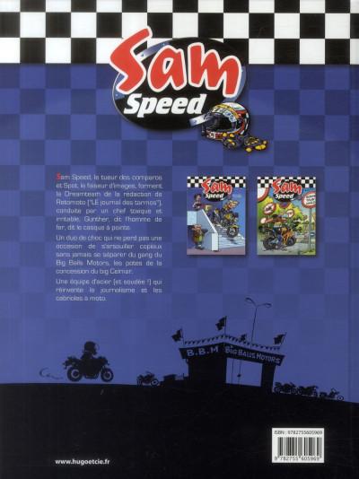 Dos Sam Speed tome 3 - l'étoffe des zéros