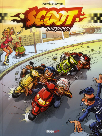Couverture scooter tome 1 - scoot toujours