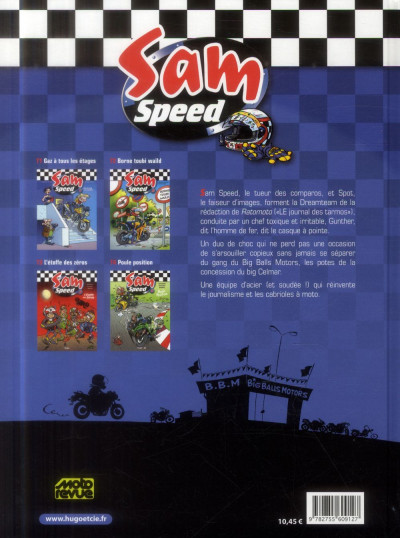 Dos Sam Speed tome 4 - poule position