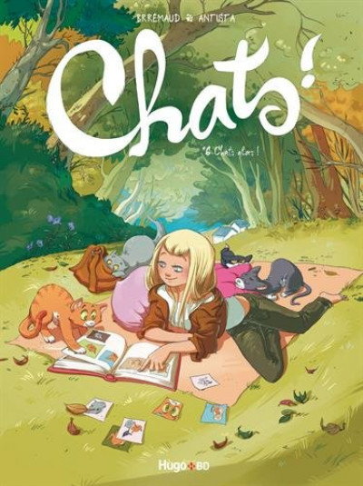 Couverture Chats tome 6 - Chat alors !