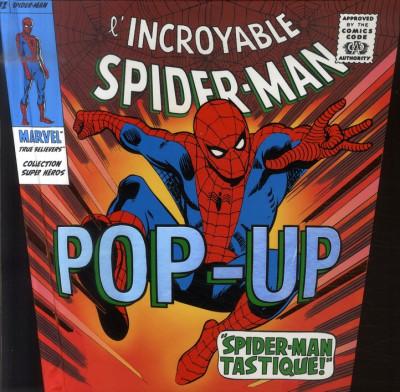 Couverture L'incroyable Spiderman - Pop-up