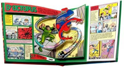 Page 1 L'incroyable Spiderman - Pop-up