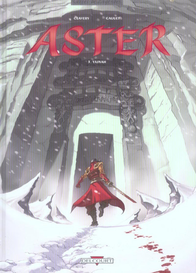 Couverture aster tome 3 - jajnah