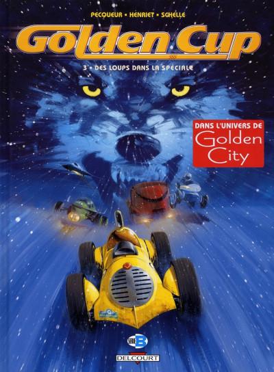 Couverture golden cup tome 3 - des loups dans la spéciale