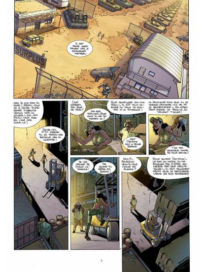 Page 8 golden cup tome 3 - des loups dans la spéciale