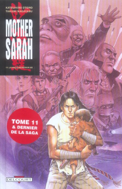 Couverture mother sarah tome 11