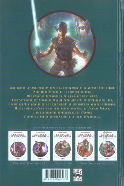 Dos star wars - le cycle de thrawn tome 1.2 - l'héritier de l'empire