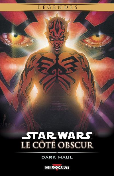 Couverture star wars - le cote obscur tome 2 - dark maul